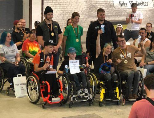 WCMX – Deutsche Meisterschaft im Wheelchair-Motocross, zweimal Gold für Chemnitz im Rollstuhlskaten