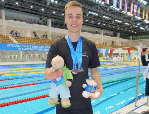 Paralympisches Schwimmen, ein Hochleistungssport