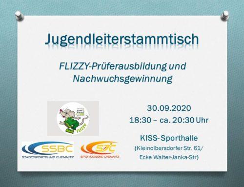 Ausbildung zum FLIZZY-Prüfer beim nächsten Jugendleiterstammtisch