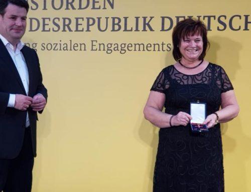 Bundesverdienstkreuz für Kerstin Stopp