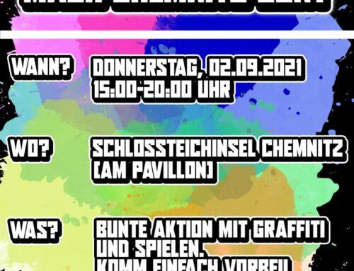 """""""Zeig Farbe – mach Chemnitz bunt!"""""""