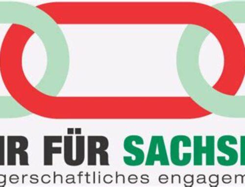 """Förderung ehrenamtlichen Engagements durch """"Wir für Sachsen"""""""